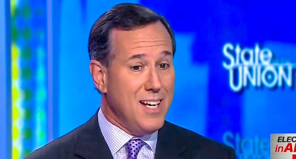 Rick Santorum: Racially-motivated GOP voters 'bristle' when you call them racists