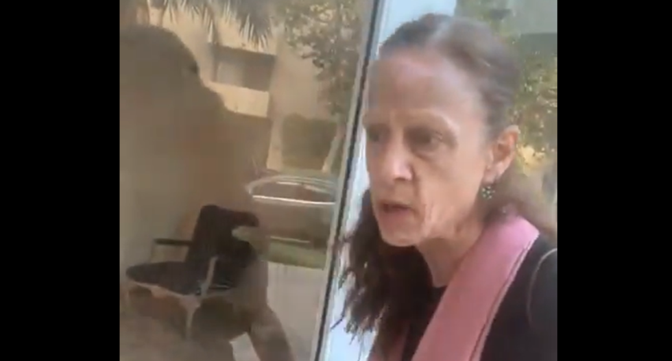 WATCH: L.A. woman throws tantrum because Black deliveryman was entering her building to drop off food