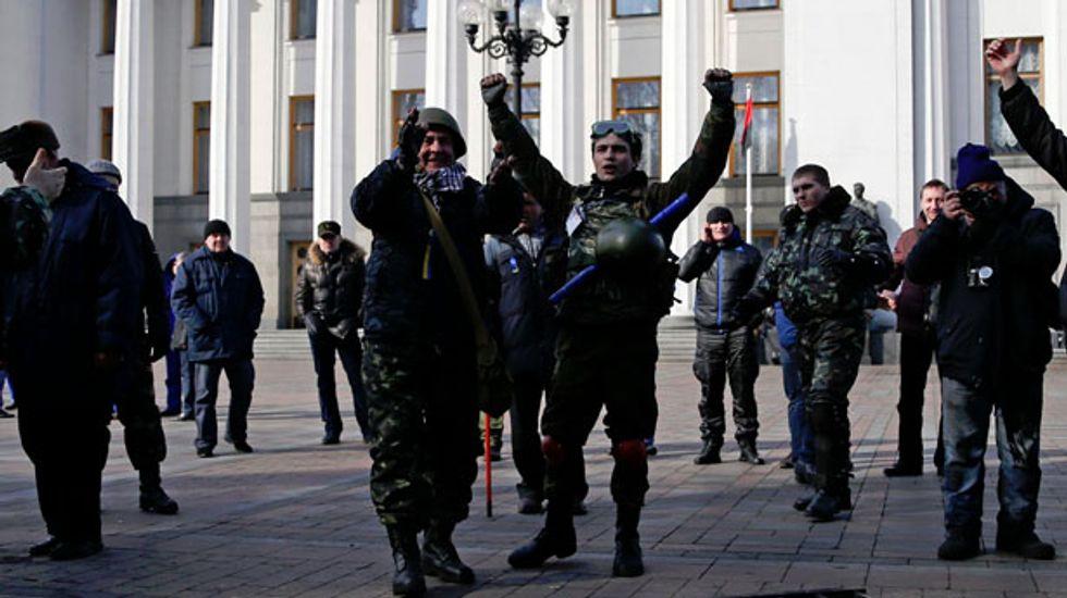 Ukraine alarmed as Putin puts Russian combat troops on high alert