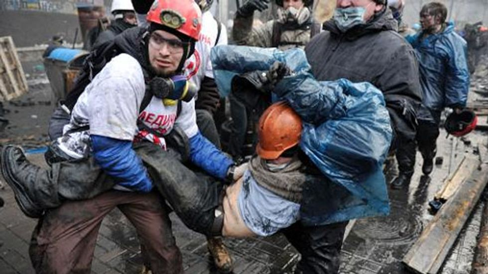 Documents reveal huge government assault was planned to 'cleanse' protesters from Kiev