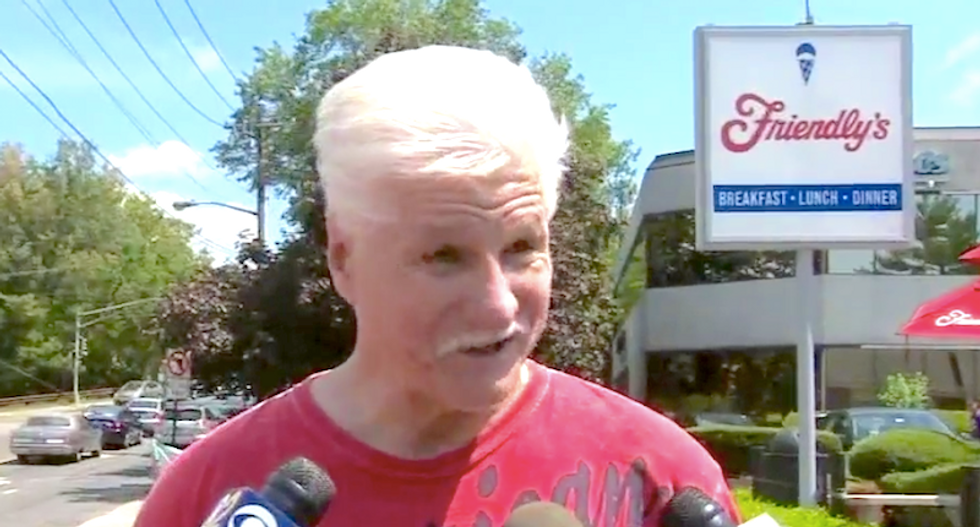 New Jersey man says he was beaten over Trump shirt in Friendly's parking lot