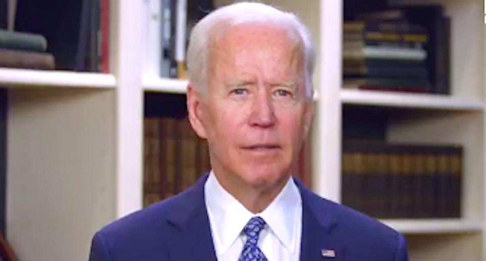 'He's surrendered': Biden slams Trump's coronavirus leadership in Joy Reid's debut primetime broadcast