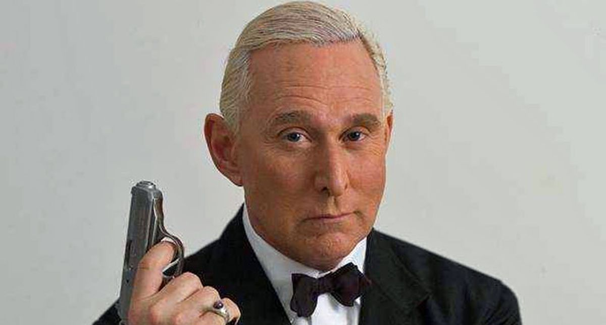 Was notorious dirty-trickster Roger Stone behind the failed Capitol insurrection?