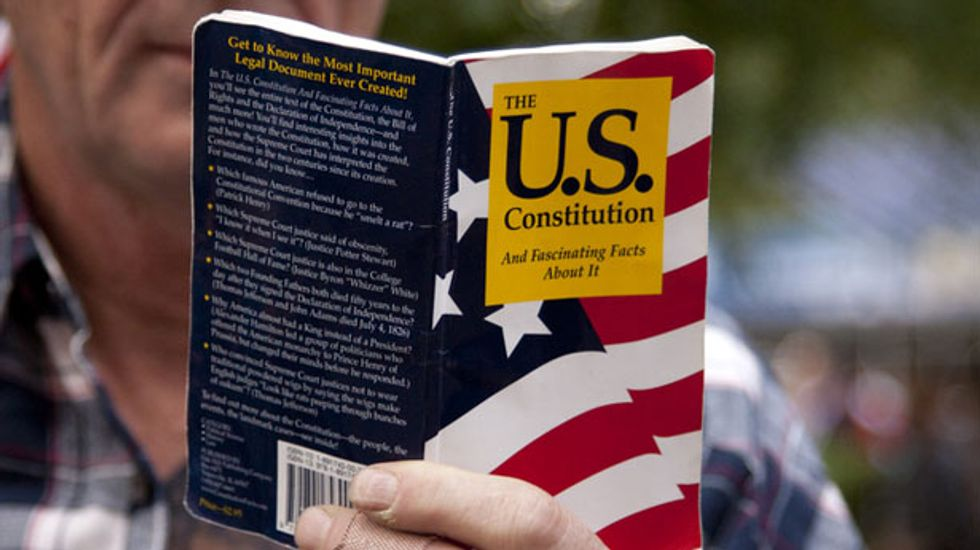 Student prevented from handing out copies of the Constitution wins lawsuit against college