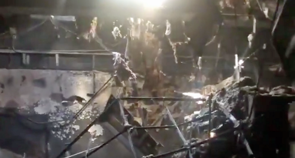 WATCH: Arizona Democrats reveal extensive damage after their HQ burned in suspected arson attack