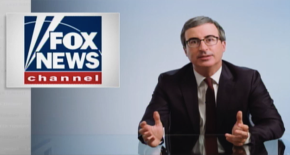 John Oliver takes down Fox News' Sean Hannity for focusing on petty infractions as proof of the downfall of American society