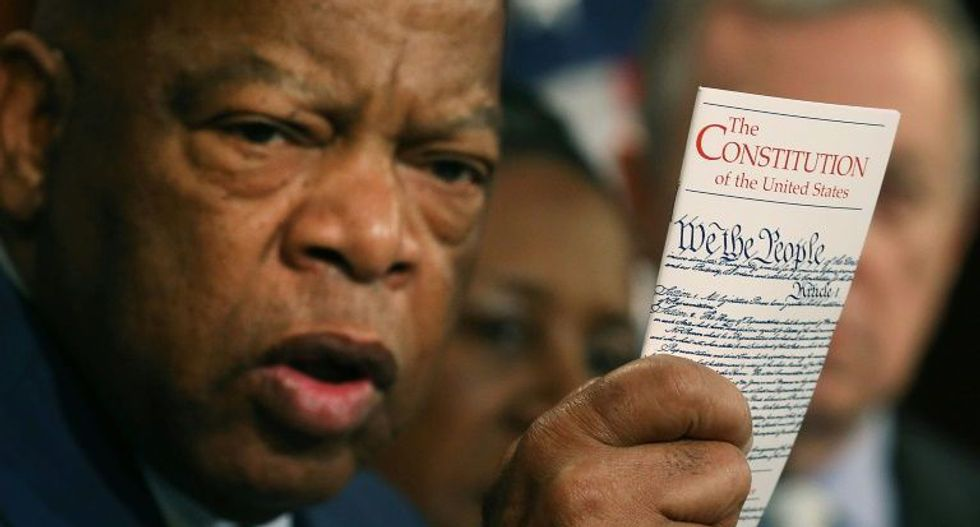 Civil rights icon John Lewis hailed as a fighter for 'the least of us' at Alabama memorial service