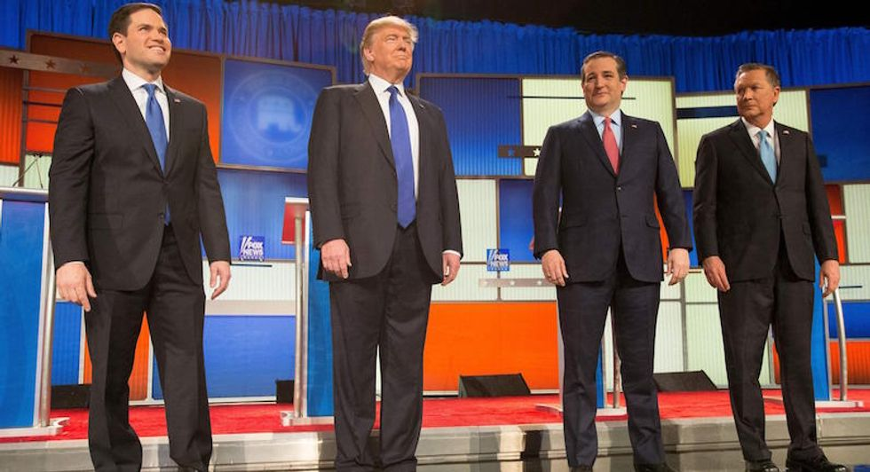 A blast from the not-so-distant past: When Republicans wanted Donald Trump hooked off the debate stage