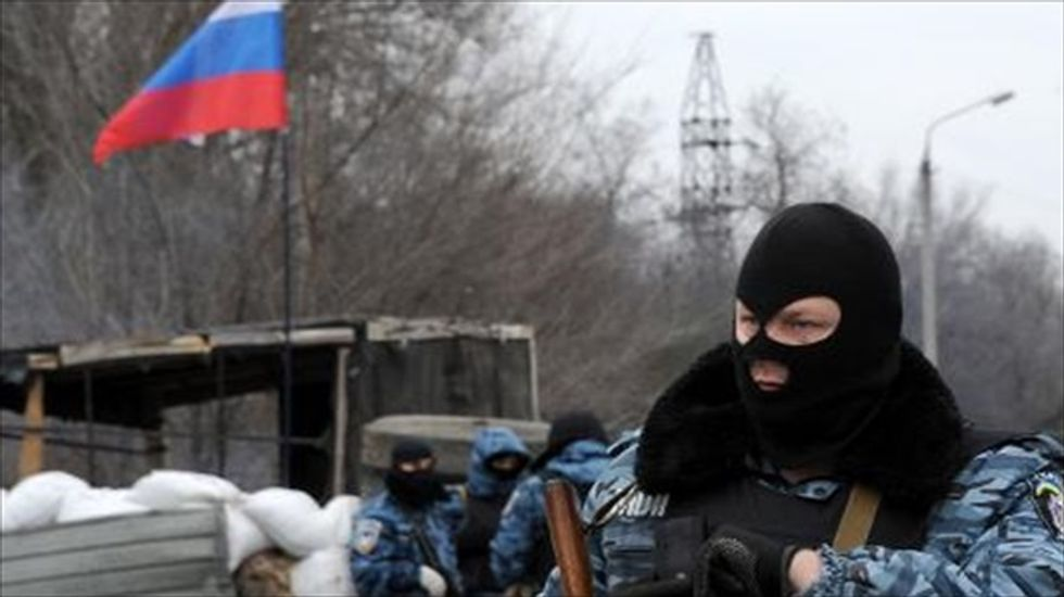 UN: 10,000 people displaced in Ukraine since start of crisis