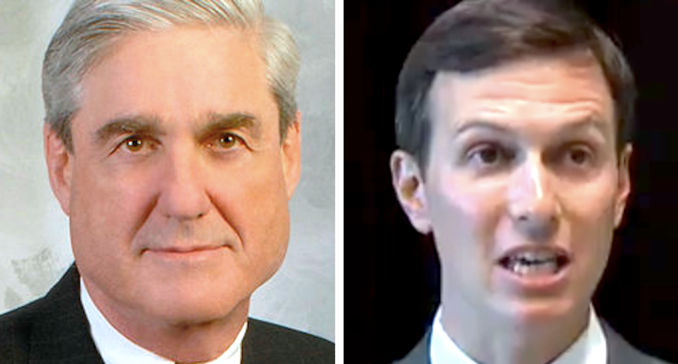 Mueller using Kushner to connect the dots between Flynn and Russia: report