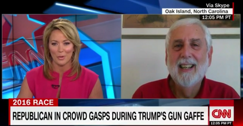 'Aghast' Trump fan rips his Second Amendment rant: 'I would have taken him to the shed'