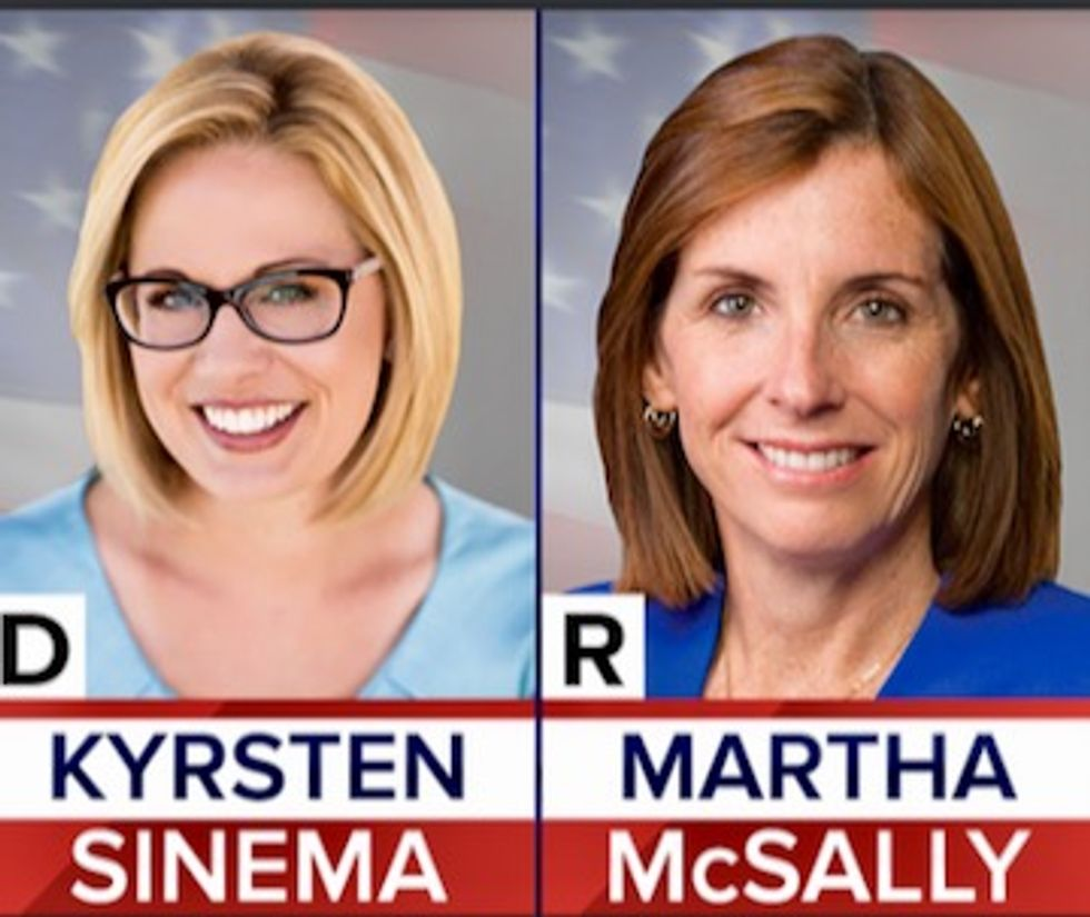 Independent voters will decide Arizona's historic female Senate race