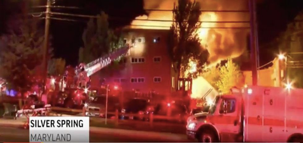 Seven missing, dozens injured in Maryland explosion, fire