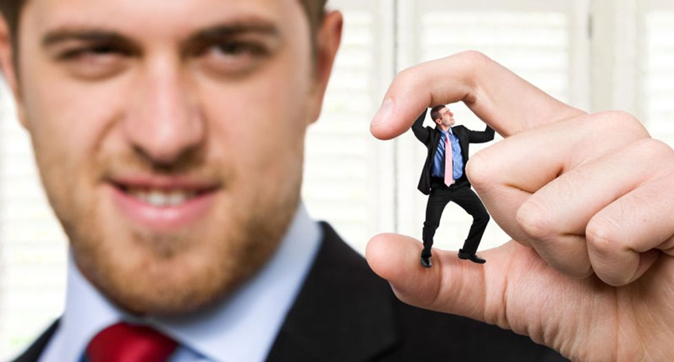 How to deal with your narcissistic bullying boss before you get PTSD