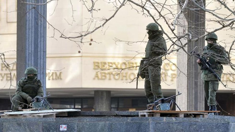 U.S. condemns series of clashes between Russian and Ukrainian supporters