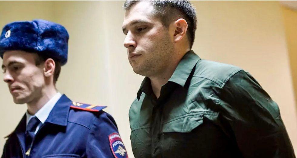 Russian prosecutors demand nearly 10 years' jail for US ex-marine