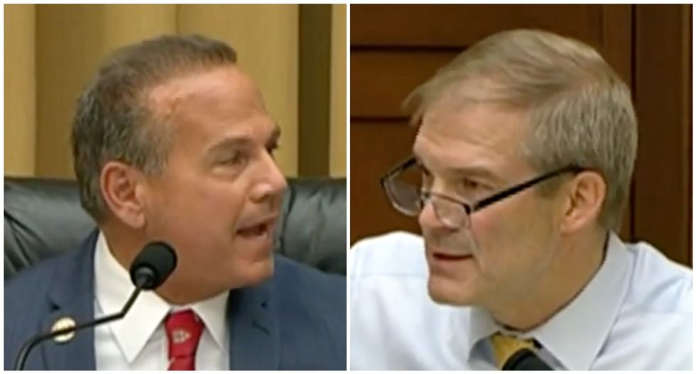 'Put on your mask!' House's tech hearing briefly goes off the rails as GOP's Jim Jordan clashes with chairman