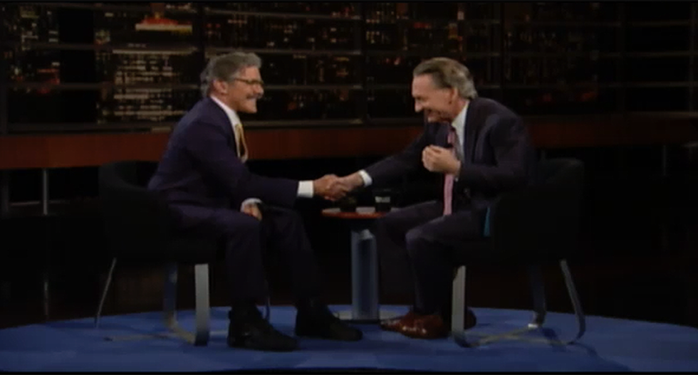 Bill Maher bets a doubting Geraldo $1,000 there's something 'there' to the Russia investigation