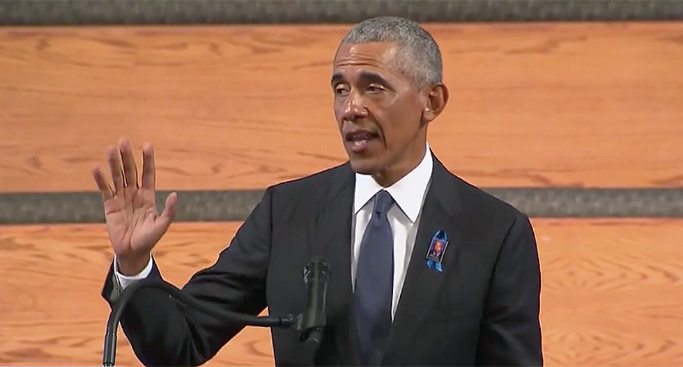 WATCH: Obama drowns Donald Trump in a flood of mockery in a brutally hilarious speech