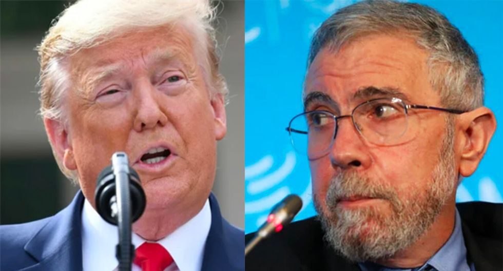 Trump is a 'nightmare' that refuses to go away: Paul Krugman