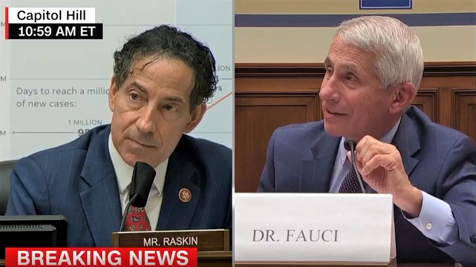 WATCH: Dem lawmaker gets Fauci to debunk Trump's COVID-19 claims one by one