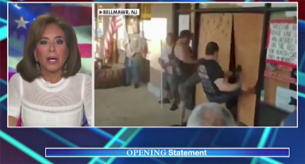 Jeanine Pirro praises people using 'force' to violate COVID rules: 'Make up your own mind'