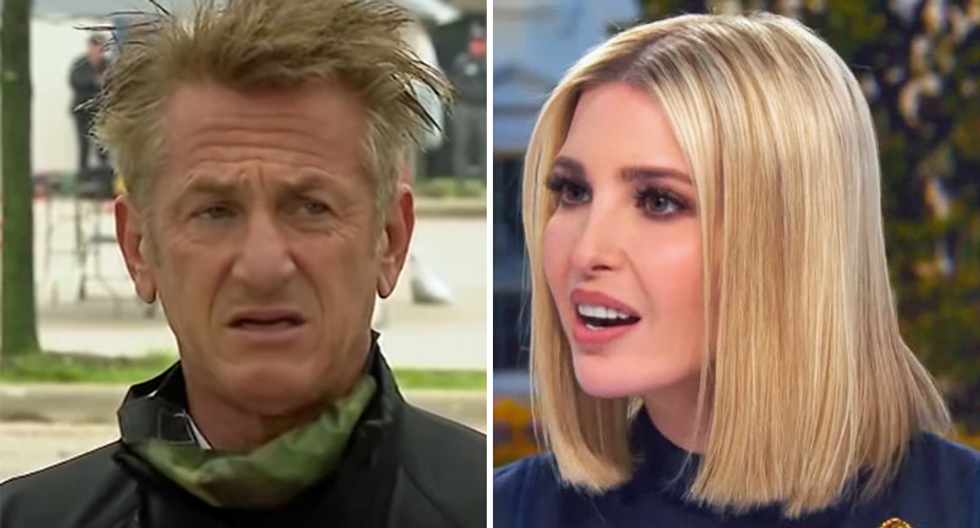 Would Trump be cruising to re-election if Ivanka had married Sean Penn instead of Jared Kushner?