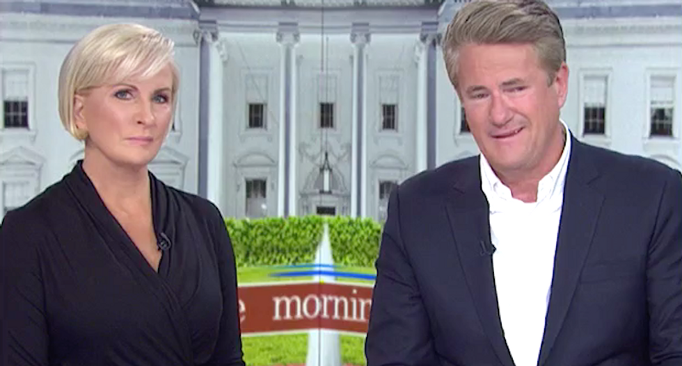 'Most racist president in our lifetime': MSNBC's Morning Joe and Mika blast Red Sox players who made White House visit