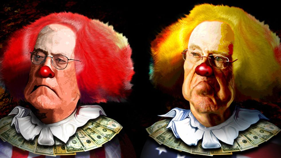 Recession no laughing matter for clown industry