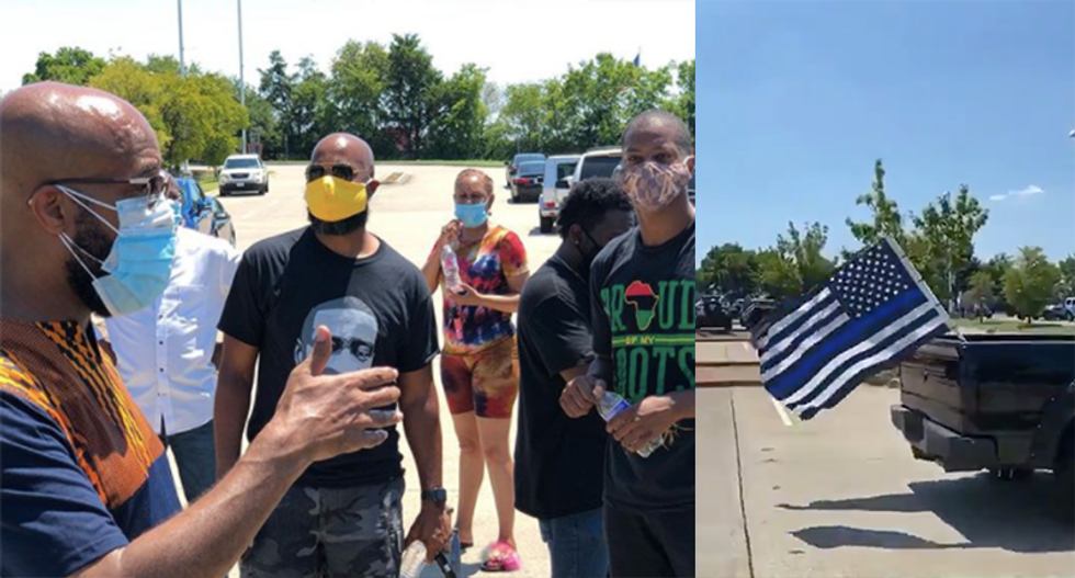 Texas pastor says his church was 'lied to' about Blue Lives Matter rally he never approved: 'We experienced deceit and hate'