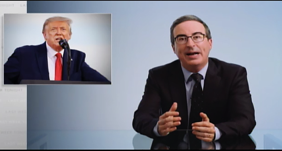 John Oliver gives Trump and Fox News' Laura Ingraham a history lesson on what they don't get about their racist language
