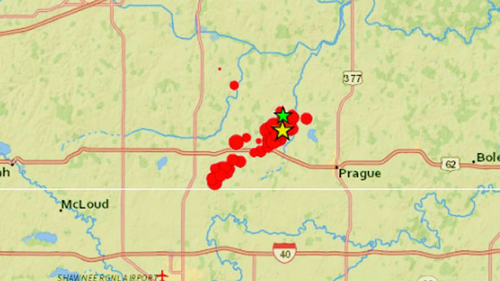 Seismological Society of America: Fracking causes earthquakes