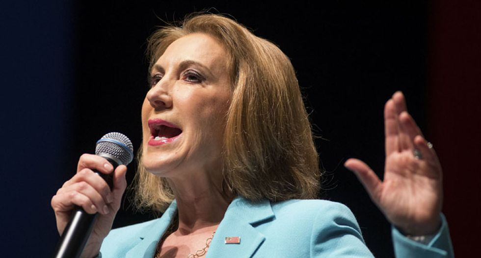 'I'd rather go to Iraq': Ex-staffers of White House hopeful Carly Fiorina won't sign on again