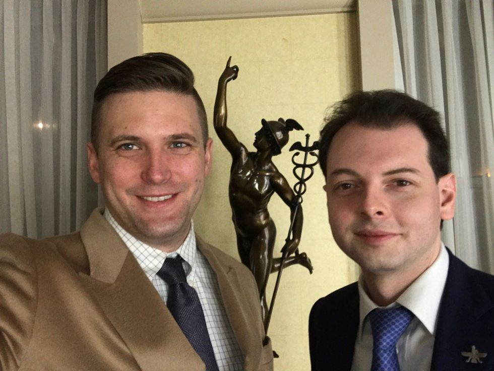 'It's gonna end with concentration camps': Alt-right executive boasts of a future Europe with Hitler on their money