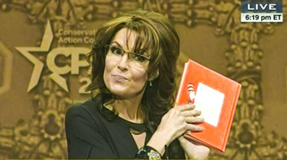'Death Panels, She Wrote': Announcement of Palin's channel brings out the snark on Twitter