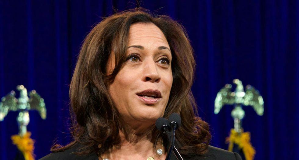 Right-wing Facebook pages are spreading a fake Kamala Harris quote -- that actually came from Trump
