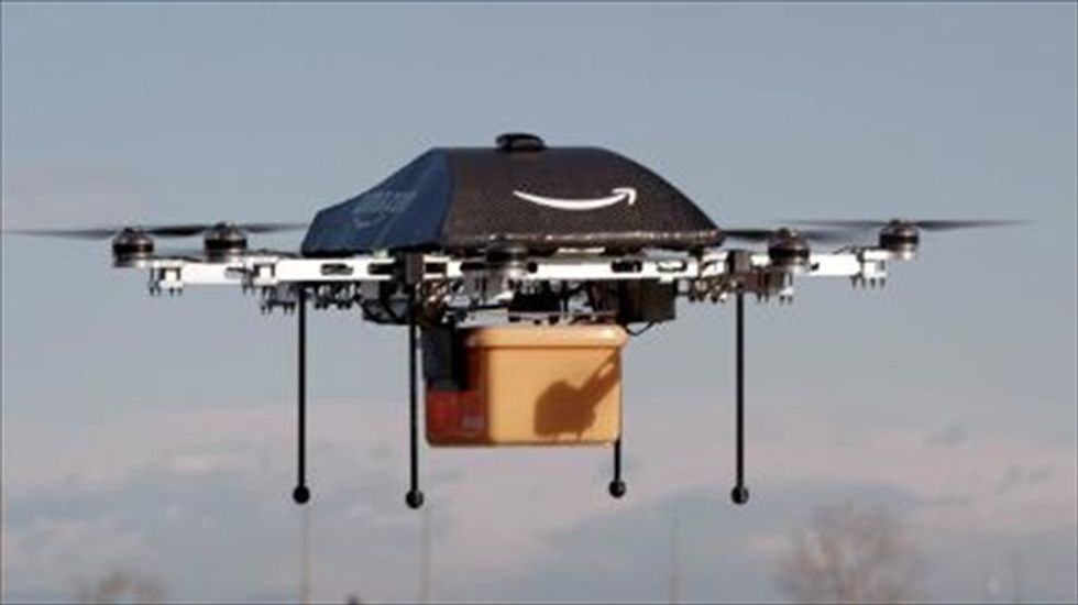 Federal regulators give Amazon the go-ahead for delivery drone test flights