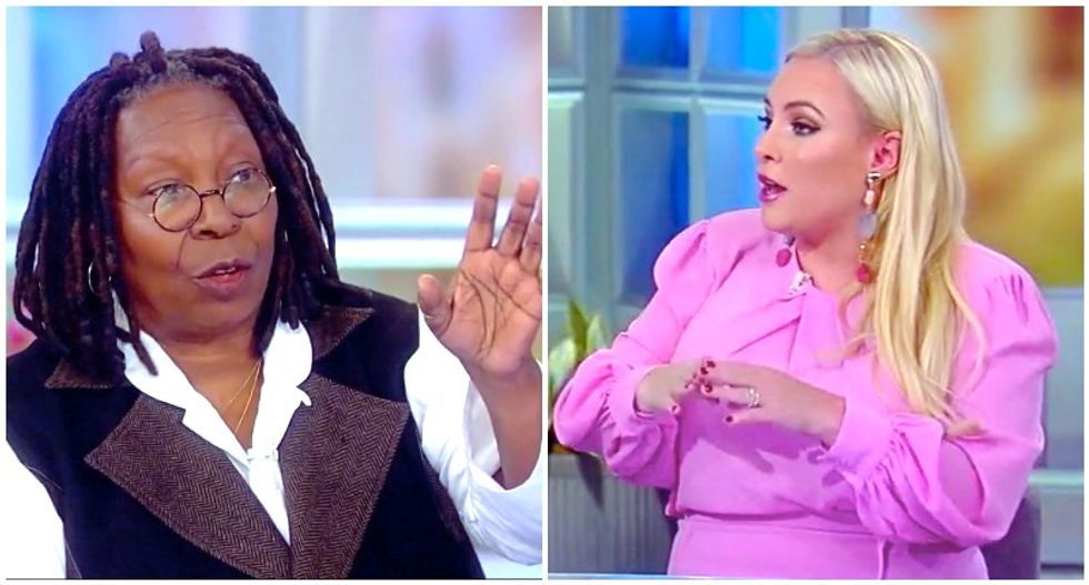 'Stop, Meghan': The View's Whoopi Goldberg cuts off McCain outburst over CNN's Jim Acosta