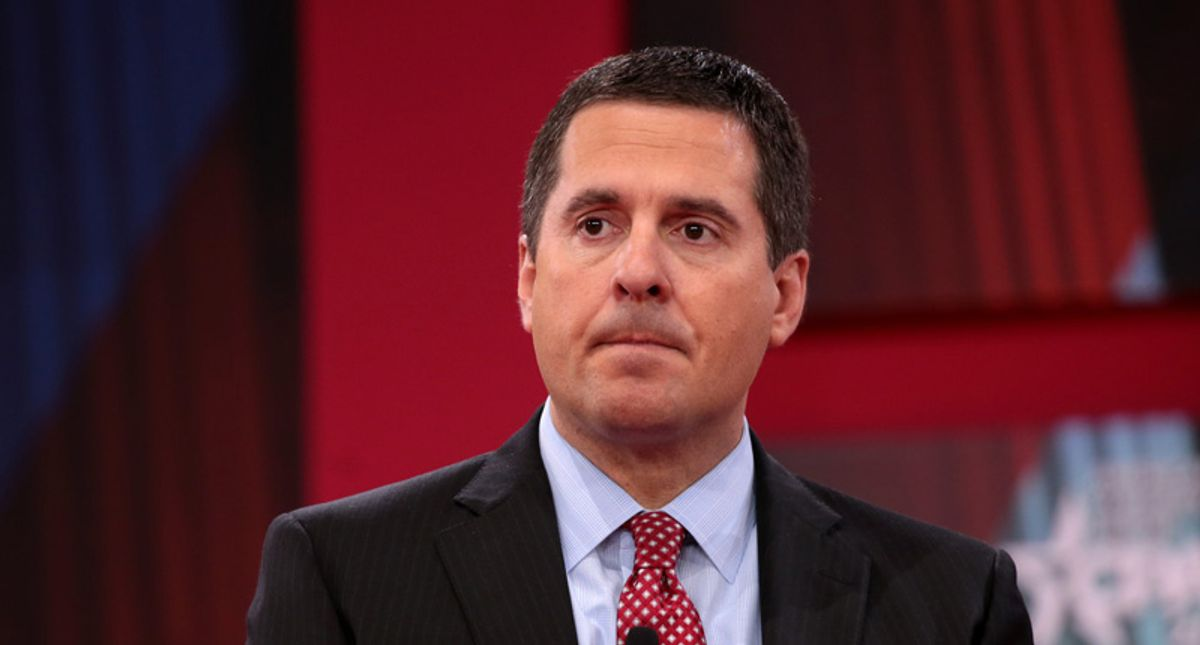 Devin Nunes' Congressional Twitter account momentarily suspended
