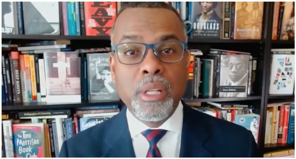 Professor Eddie Glaude blasts Trump's boasts about helping Black Americans: 'He sounds like a plantation owner'