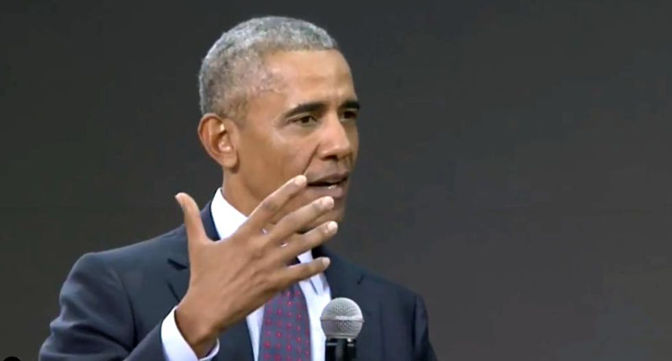 Obama praises youth climate protesters: 'The sooner you start — the better'