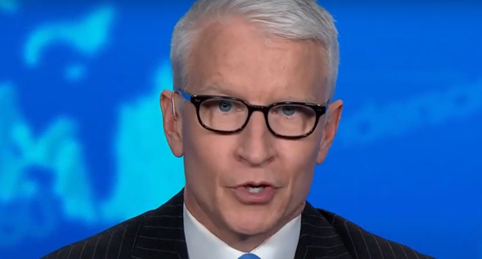 Anderson Cooper mocks Trump as 'Covita': 'Don't cry for him, just go and get tested'