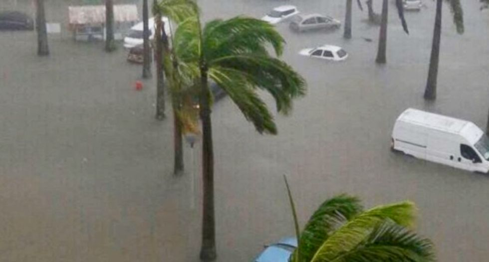Unrelenting water imperils Puerto Ricans