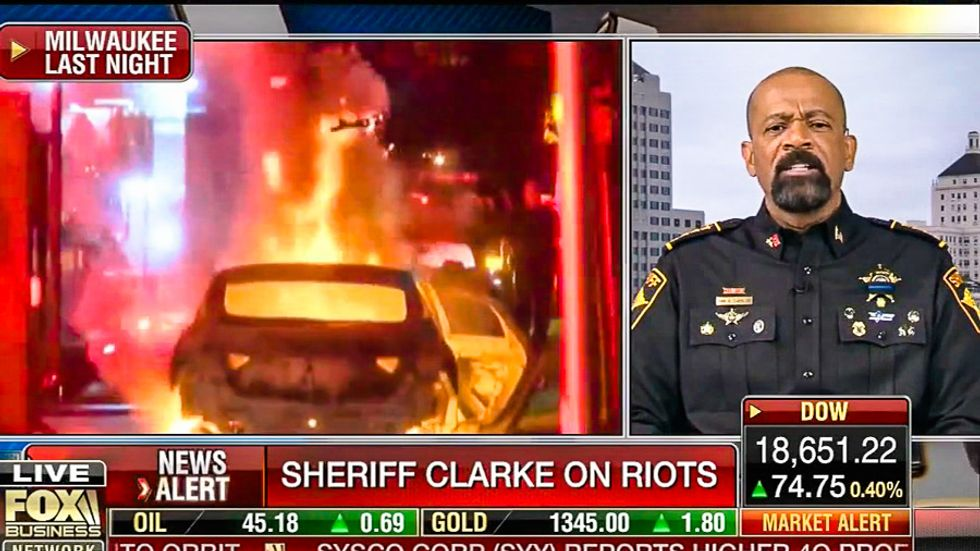 Fox's Sheriff David Clarke: Milwaukee riots caused by single moms and 'questionable lifestyle choices'