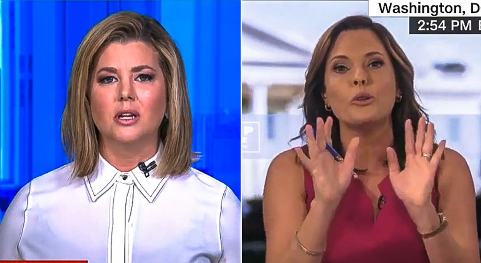 'You're saying a bunch of crap': CNN host battles Trump adviser Mercedes Schlapp on mail-in voting