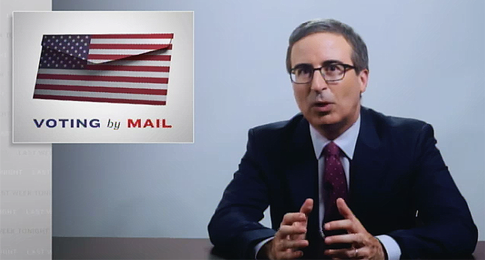 WATCH: John Oliver exposes Trump's lies about vote-by-mail -- and the Fox News 'cult' claiming the election is already 'rigged'