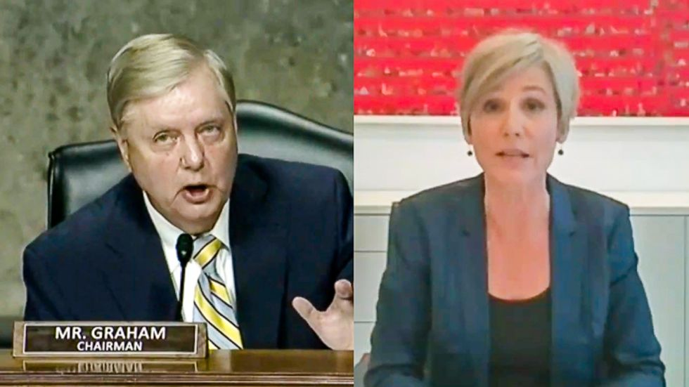 Lindsey Graham scolded in Sally Yates hearing: 'Just because it's a woman testifying doesn't mean she needs to be cut off'