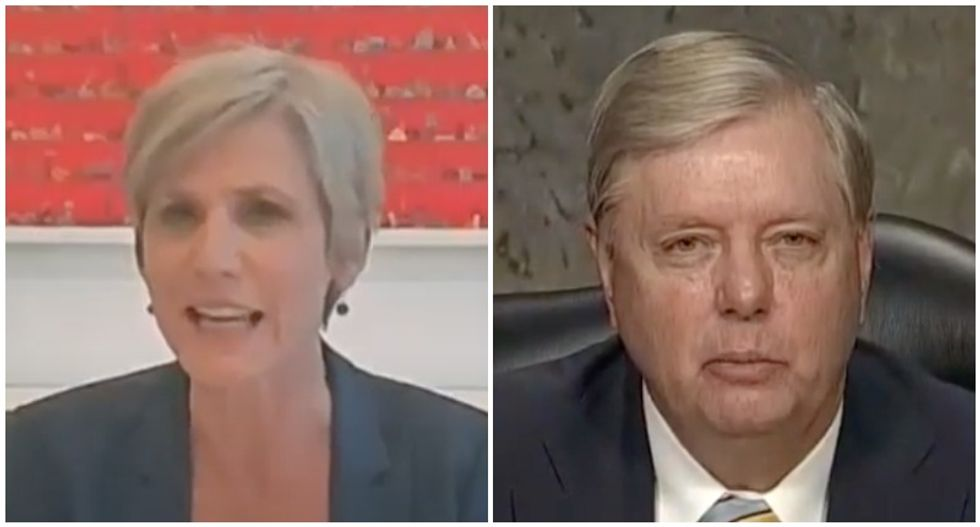 WATCH: Sally Yates clashes with Lindsey Graham for claiming Flynn was investigated over a policy difference