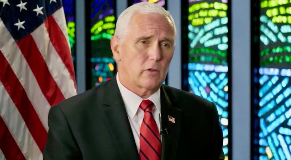 Pence brags about plan to fight mail-in votes: Trump will 'head straight to the courthouse' — hints at using SCOTUS to win