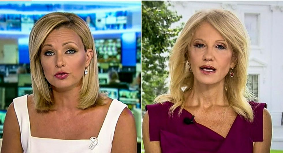 'Kids are getting this disease': Fox News host cuts off Kellyanne Conway over Trump 'misinformation'